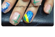A- manicure nail art / by Mygirlnuri nails