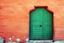 Art | Doorways / Wall art featuring interesting and unique doorways by Imagekind artists.