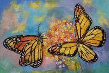 Art | Butterflies / Wall art featuring butterflies by Imagekind artists.