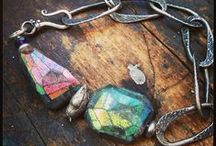 polymer clay creations + mixed media <3 / by ~Laura~