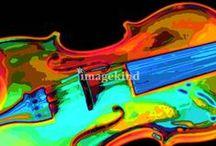 Art | Violins / Wall art featuring violins by artists on Imagekind.