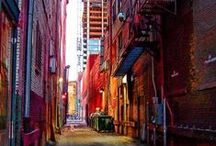 Art | Abstruse Alleyways / Wall art of and about alleyways by Imagekind artists.