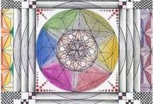 Art | Sacred Geometry / Wall art featuring sacred geometry by artists on Imagekind.