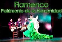 Flamenco / Patrimonio Cultural Inmaterial de la Humanidad por la Unesco  desde el 6 de noviembre de 2010