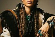 bohemian chic / boho looks, styles details, jewelry, shoes, home decor, gypsy, bohemian, free spirit