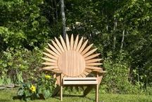 PrideCraft's Themed Adirondack Chairs / Uniquely themed Adirondack Chairs made from weather durable mahogany.