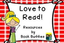 Love to Read! Book Buddies / Original fiction and nonfiction by Book Buddies, plus lots of wonderful books and reading resources.  / by Book Buddies