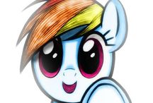 My little pony / by Amelia Chan