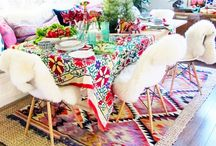 Colourful Tablescapes