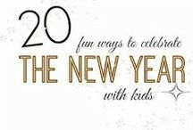 New Year's Eve / Ideas for things to do with (and without!) kids on New Year's Eve