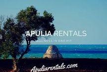 Trulli to Rent in Puglia / Puglia Holiday rentals in southern Italy  http://www.apuliarentals.com/english/ / by Apulia Rentals Trulli in Affitto Ville al Mare Puglia