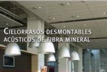 #Cielorrasos Desmontables Durlock / Soluciones prácticas, lavables, acústicas y estéticas.