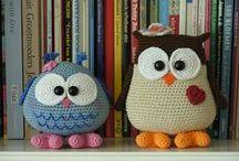 Crochet inspiration - toys / Hračky jako inspirace na háček