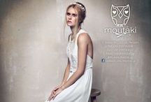 Moutaki Bridal Collection SS2015 / Marriage. We made special bridal dresses, for your special day!