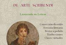 de Arte Scribendi / Información y consejos sobre escritura académica, escritura creativa, gramática y corrección de estilo