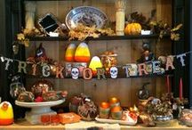 Falling for Fall / Autumn, Halloween and Thanksgiving