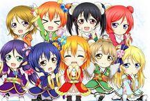 LOVE LIVE!❤️ SCHOOL IDOL PROJECT / Anime e manga