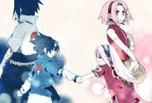 SASUKE X SAKURA (≧◡≦) ♡ / Anime e manga