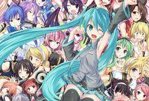 VOCALOID & UTAULOID / Anime e manga
