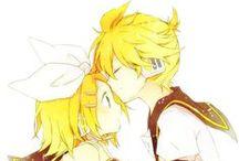 RIN e LEN , RINTO e LENKA / anime