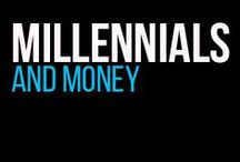 Millennials and Money / millennials and money / by Dressed To Invest
