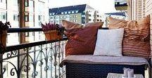 beautiful balcony / Balkon Ideen, Loggia, Balkon nutzen, Balkon gestalten, balcony, garden, urban, plants, cozy