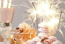 celebrate! / festive decoration, make-up, hair, outfit, food, spirit!