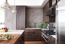 Great kitchens and design element in th home / Fine design and great ideas