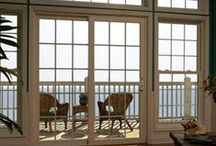 Patio Doors / Get outside! Enjoy the outdoors all year long with an energy efficient patio door from Simonton Windows.