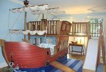Fiúszobák / Festés, berendezés - bútorok, kiegészítők, fantasztikus ötletek egy igazi fiúszoba berendezéséhez.