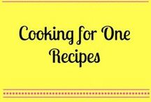 FOOD - COOKING FOR ONE / food - cooking for only one or two persons / by mary meyer