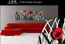 L.A.S. CREATIONS / Exclusive wall sculptures realized with laser 100% Made in Italy