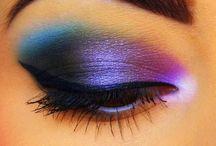Colorful eye shadow  / Eye shadow