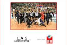 L.A.S. & LUBE VOLLEY 2013/2014 / L.A.S. is official #sponsor of Lube Volley. A partnership to live together this dream!