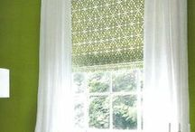 Window Treatment Ideas / Just say NO to boring, drab windows! Dress up your windows with beautiful window treatments. See our favorite window treatment ideas below.