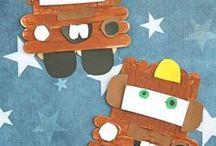 Autók / Házilag készíthető autók, autós játékok a srácoknak - papírból, flakonból, dobozokból
