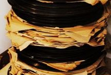 ☆ Ruimte voor je verzameling / Heb jij een bijzondere verzameling van lp's/vinyl? Hier staan allerlei leuke ideeën om je verzameling zorgvuldig en veilig op te bergen!