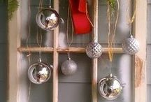 Holiday Window Decorations / The most creative window decoration ideas for the holidays.