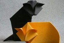 origami. / Origami, paper, folding
