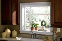 Garden Windows / Whether you're looking brighten up a space or want an easy way to keep your garden growing year round, there are a number of benefits to installing a garden window in your home.