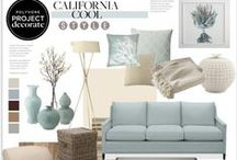 HOME   Decorating / Home decorating moodboards and colour swatches. Hamptons style, coastal and casual