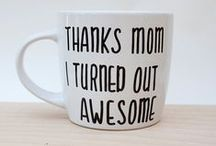 Mother's Day / What can we say? We love our moms! And we want to make sure they're celebrated in the best possible way. So here is a collection of fun DIY projects and other gifts to help you celebrate your mom.
