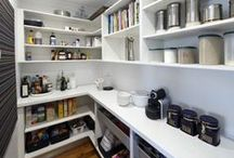 HOME   walk in pantry / An organised butlers pantry for food and small appliances
