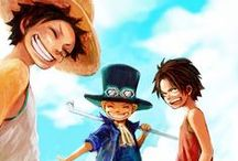ASL / Monkey D. Luffy, Portgas D. Ace & Sabo - One Piece - Brothers