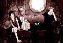 Zolu / Roronoa Zoro x Monkey D. Luffy - One Piece