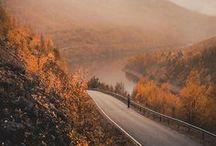 Lapland's autumn