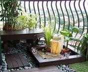 Sweet balcony / Balcony inspiration.