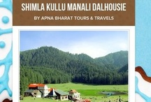 Himachal - Shimla Kullu Manali Dalhousie / Himachal Pradesh is the land of eternal snow peaks abounds in exotic valleys, glorious green hill-slopes, mountains, streams......