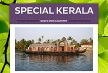 Special Kerala / Kerala is God's Own Country. Rivers, lagoons and backwaters, covered in coconut groves and sunny, palm beaches. Kerala truly is a small slice of paradise...