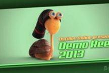 Demo reels de la escuela Oscillon School / Videos de producción propia donde se muestran los trabajos anuales de los alumnos graduados en la escuela de modelado y animación 3D Oscillon School.
